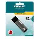KINGMAX5年保証!64GB【USBメモリKM64GMA06D】USB2.0対応・キャップ付