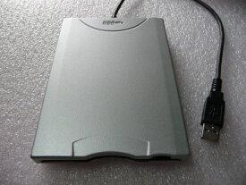 各社メーカー製USB外付けフロッピーFDDディスクドライブUSBバスパワ対応・中古良品(白)シルバー[配送無料][代引不可]