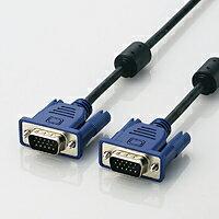 新品特価(各メーカー製)高品質VGAケーブルアナログRGBケーブル PC本体とD-Sub15ピン(ミニ)仕様のディスプレイを接続するケーブル[約1.5m][配送無料][代引不可]
