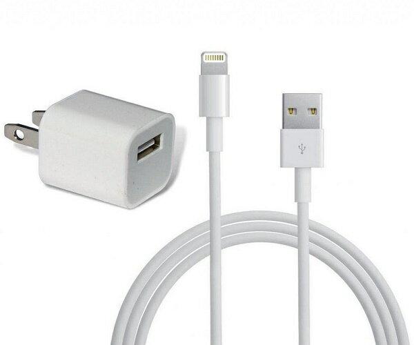 【新品】未使用 Apple(アップル)正規品 iPhone純正AC充電器アダプター5V+USBライトニングケーブル Lightningケーブル未使用(1m)2点セット品(MD810LL/A A1385 MD818ZM/A同等品)数量限定