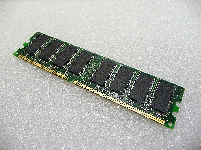 PK-UG-ME030やPK-UG-ME031 PK-UG-M011対応1GBメモリ両面チップDD400-1G互換!特価中古優良品