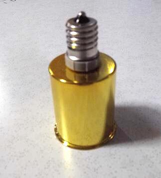 口金変換アダプター ソケットアダプター E17⇒E26に簡単に変換、ソケット陶器製カバー金属、耐熱性抜群、日本製gold!!
