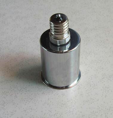 口金変換アダプター ソケットアダプター E17⇒E26に簡単に変換、ソケット陶器製カバー金属、耐熱性抜群、日本製!!
