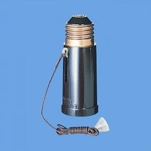 Panasonic3号国民ソケットWH1010PK(1灯用プルスイッチ付)