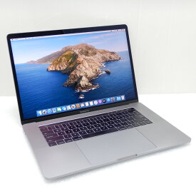 【中古 Cランク】Apple MacBook Pro (15インチ, 2016) 第6世代 i7(6920HQ)2.9GHz 16GB SSD512GB 15.4インチ(2880×1800)Radeon Pro 460 10.15.2 充放電236回 USキー