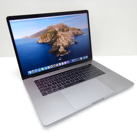 【中古 Cランク】Apple MacBook Pro (15インチ, 2016) 第6世代 i7(6920HQ)2.9GHz 16GB SSD512GB 15.4インチ(2880×1800)Radeon Pro 460 10.15.2 充放電179回 USキー