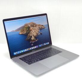 【中古 Bランク】Apple MacBook Pro (15インチ, 2016) 第6世代 i7(6920HQ)2.9GHz 16GB SSD512GB 15.4インチ(2880×1800)Radeon Pro 460 10.15.2 充放電101回 USキー