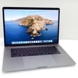 【中古 Aランク】アップル MacBook Pro (15-inch, 2018) ヘキサコアi9(8950HK)2.9GHz 32GB/SSD1TB/RadeonPro VEGA20/OSX Catalina/JPキーボード/タッチバー/充放電回数14回