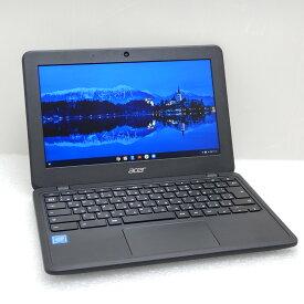 【中古 Aランク】Acer Chromebook 11 C732L-H14M Celelon(N3350)1.1GHz 4GB eMMC16GB 11.6インチ(1366×768) OS:Google Chrome