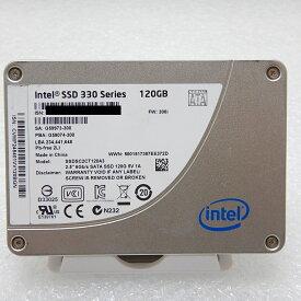 【中古】 intel SATA 2.5インチ 9.5mm SSD 120GB SSDSC2CT120A3