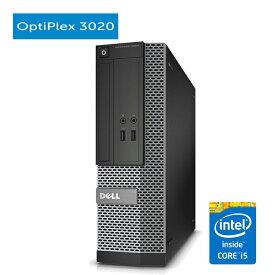 デル DELL OptiPlex 3020 SFF 第四世代 Core i5-4570 大容量8GBメモリ 新品SSD256GB 正規版Office付き USB3.0 光学ドライブ DisplayPort 中古パソコン Win10 中古デスクトップ Windows10