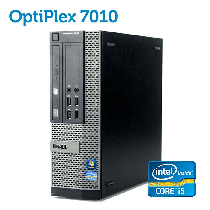 デル DELL OptiPlex 7010 SFF 【第三世代 Core i5-3470 8GBメモリ SSD128GB+HDD320GB USB3.0 光学ドライブ DisplayPort 正規版Office付き】 中古パソコン Win10 デスクトップ Windows10 Windows7【あす楽】