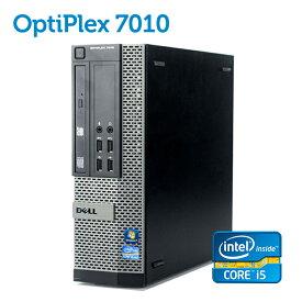 在宅勤務対応 DELL OptiPlex 7010 SFF 【第三世代 Core i5-3470 大容量8GBメモリ 新品SSD256GB USB3.0 光学ドライブ DisplayPort 正規版Office付き】 中古パソコン Win10 デスクトップ Windows10 在宅ワーク