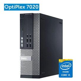 デル DELL OptiPlex 7020 SFF ハイブリッド仕様第四世代Core i5-4570 8GBメモリ SSD128GB+HDD320GB 正規版Office付き USB3.0 光学ドライブ DisplayPort 中古デスクトップパソコン Windows10 Windows7 中古デスクトップPC
