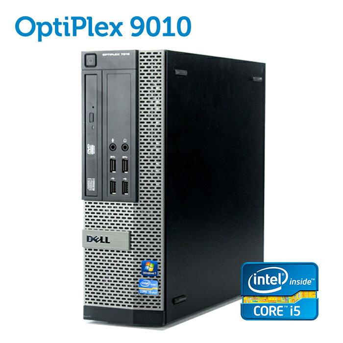 デル DELL OptiPlex 9010 SFF 【第三世代 Core i5-3470 大容量8GBメモリ 新品SSD256GB USB3.0 光学ドライブ DisplayPort 正規版Office付き】 中古パソコン Win10 デスクトップ Windows10 Windows7【あす楽】