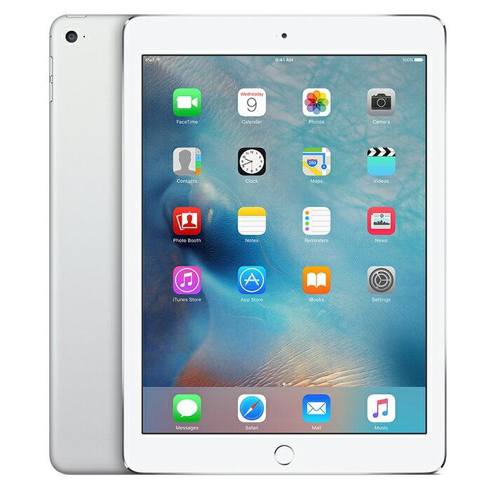 APPLE iPad Air2 A1566 9.7インチ Retinaディスプレイ WI-FIモデル 16GB シルバー 白 中古タブレット 中古iPad アイパッドエアー2 FaceTime HD および iSight カメラ Touch ID