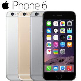 iPhone6 16GB キャリア版 白ロム 4.7インチ 3色選べる キャリア選べる Retina HDディスプレイ Touch ID 中古スマホ アップル APPLE 中古アイフォン 本体のみ