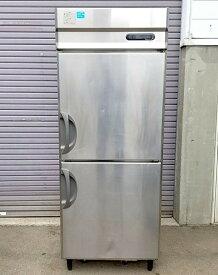 福島工業 業務用 冷蔵庫 URD-250RM1 2011年 フクシマ【中古】