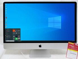 送料無料 即日発送 中古 5K対応 27インチ液晶一体型 Apple iMac A1419 (Retina 5K, Late-2015) / Win10 + macOS Big Sur/ 六代 i5-6600 / 8GB/ 爆速128G SSD + 2000GB-HDD/ Radeon R9 M395/ カメラ/ 無線/ リカバリ/ Office付【中古パソコン 中古PC ゲーミングPC】