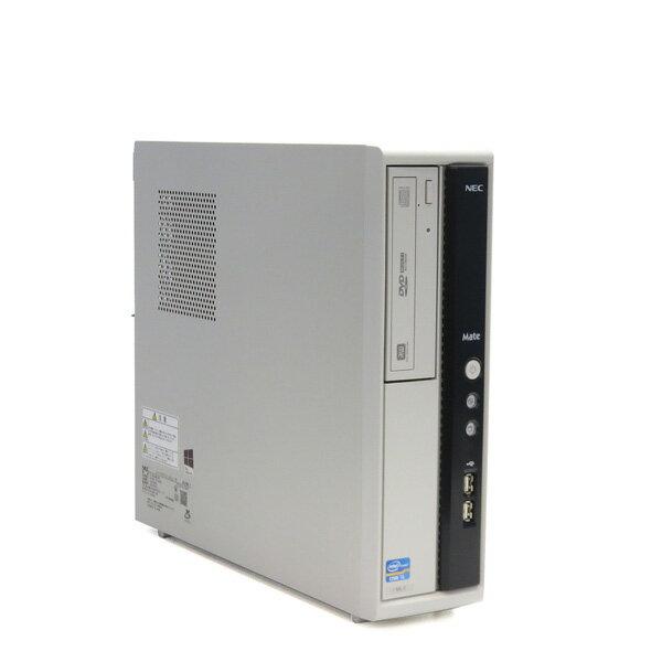 NEC Mate MJ29M/L-F【Core i5 3470S(2.9GHz 4コア)/4GB/250GB】【Windows10 64bit】【中古