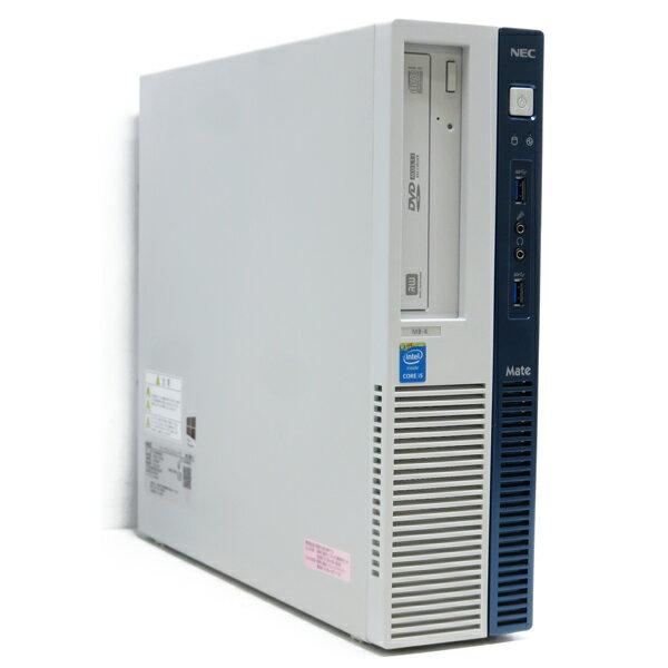 NECMate MK33M/B-K【Core i5 4590/8GB/500GB】【DVDマルチ/Windows10 64bit】【中古】【送料無料※沖縄・離島を除く】
