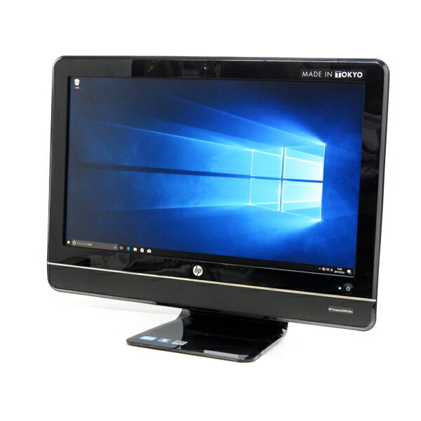 HP Compaq 8200Elite All-in-One【Core i5 2400S/4GB/250GB/Win10-64bit】【フルHD】【中古】