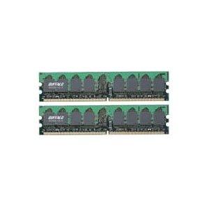 【中古】【良品】BUFFALO純正 DD400-1Gx2 PC3200 DDR SDRAM 1GB×2枚 計2GBメモリ ディスク用