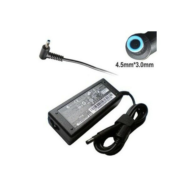 HP EliteBook Pavilion TouchSmart 19.5V 2.31A 45W スリムスマート ACアダプター L字型 ブループラグ