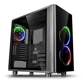 Thermaltake VIEW 31 TG RGB 強化ガラスパネル搭載ミドルタワー型PCケース|CA-1H8-00M1WN-01