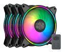 Cooler Master MasterFan MF120 Halo 3 in 1 ファン×3 アドレアブルRGBコントローラー×1セット ブラック|MFL-B2DN-…