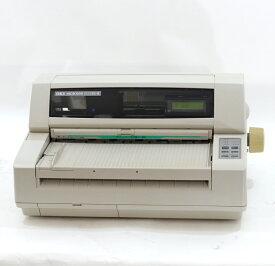 【中古】OKI MICROLINE ドットインパクトプリンタ5650SU-R ML5650SU-R 伝票 複写 水平型 パラレル USB対応