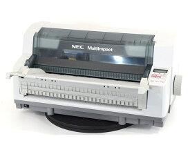 【中古】NEC ドットインパクトプリンター MultiImpact700XAN 伝票 複写 水平型 LAN