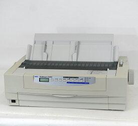 【中古】NEC ドットプリンター MultiImpact201HX 伝票 複写 ラウンド型