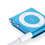 【送料無料】ipodshuffle第3.4世代用3.5mmプラグ-USB充電ケーブル