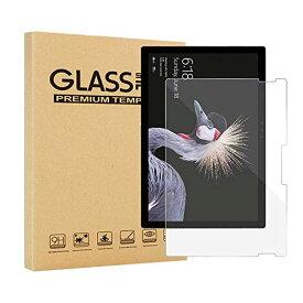 【送料無料】Surface Go2 専用TV-00012 強化ガラス 液晶保護フィルム ガラスフィルム 耐指紋 撥油性 表面硬度 9H 業界最薄0.3mmのガラスを採用 2.5D ラウンドエッジ加工 Surface Go液晶ガラスフィルム