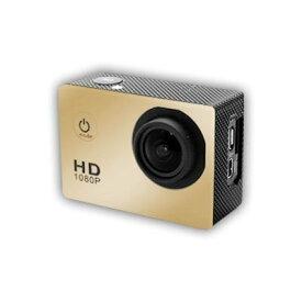【送料無料】スポーツカメラ 12MP 1080P@30fps 30m防水 130度広角レンズ 2インチ液晶画面 ハルメット式 バイクや自転車/カート/車に取り付け可能 複数のアクセサリー マリンスポーツ用
