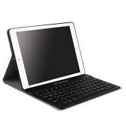 【送料無料】iPad9.7(2018第6世代/2017第五世代)/air1専用/iPadPRO10.5専用選択可能超薄レザーTPUケース付きBluetoothキーボード☆US配列☆かな入力対応