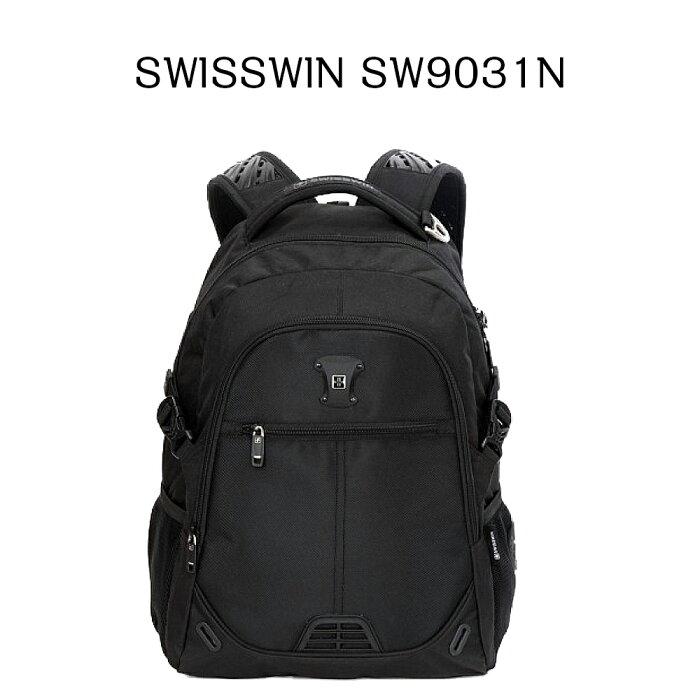 aa42324e59ee 【送料無料】SWISSWINスイスウィンリュックSW9031N☆多機能バックパック人気リュック