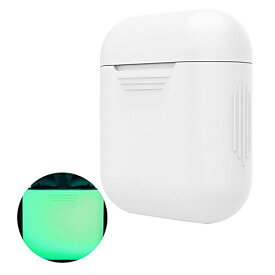 【送料無料】Apple AirPods ケース AirPods 夜光カバー シリコン素材 保護ケース