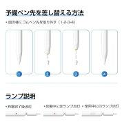 【送料無料】iPad用充電式アクティブスタイラスペンマグネットデザインAppleiPadiPadiPad7Gen/iPadPro(11/12.9インチ)/iPadMiniGen5/iPadAirGen3、充電式アクティブスタイラスiPadペンシルP3-2