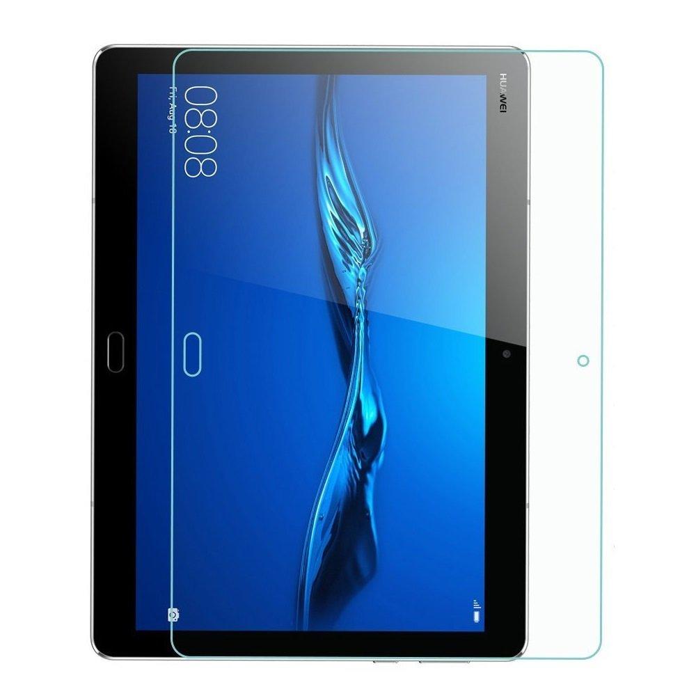 【送料無料】NTTドコモ dtab d-01K / Huawei MediaPad M3 Lite 10 wp 強化ガラス 液晶保護フィルム ガラスフィルム 耐指紋 撥油性 表面硬度 9H 業界最薄0.3mmのガラスを採用 2.5D ラウンドエッジ加工 液晶ガラスフィルム