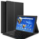 【送料無料】SOFTBANK Lenovo TAB5 10タブレット専用超薄ケース付き Bluetooth キーボード☆US配列☆かな入力 NEC LAV…