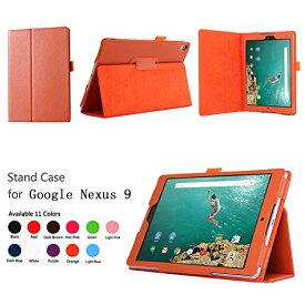 【送料無料】Google Nexus9 8.9 インチ Volantis Flounder Android 5.0 Lollipop tablet by HTC T1専用 高品質PU 二つ折レザーケース☆全6色