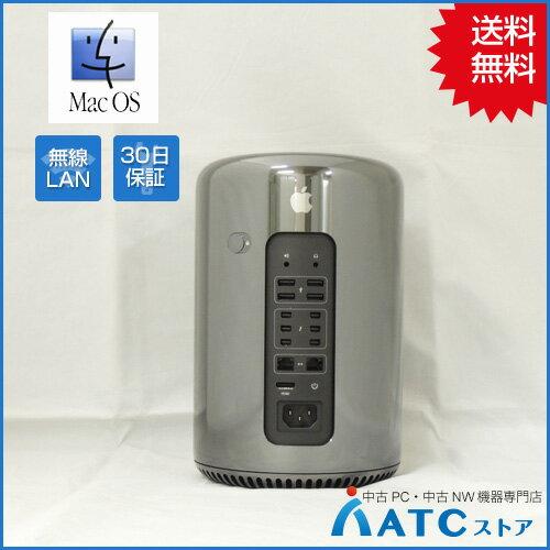 【中古デスクトップパソコン】Apple/Mac Pro/MD878J/A/Xeon E5 3.5GHz (6Core)/SSD256GB/メモリ16GB/Mac OS X 10.11【優】