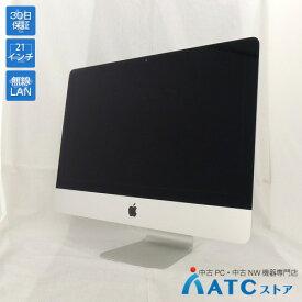 【中古デスクトップパソコン】Apple/iMac/ME086J/A/Core i5 2.7GHz/HDD 1TB/メモリ 8GB/21.5インチ/Mac OS X 10.9【良】