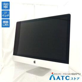 【中古デスクトップパソコン】Apple/iMac Retina 5K/MK472J/A/Core i5 3.2GHz/1TB Fusion Drive/メモリ 16GB/27インチ/Mac OS X 10.11【可】
