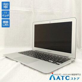 【中古ノートパソコン】Apple/MacBook Air/MJVM2J/A/Core i5 1.6GHz/SSD 128GB/メモリ4GB/11.6インチ/Mac OS X 10.11【良】