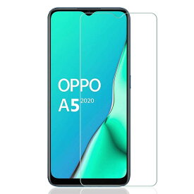 【送料無料】OPPO A5 2020 強化ガラス 液晶保護フィルム ガラスフィルム 耐指紋 撥油性 表面硬度 9H 業界最薄0.3mmのガラスを採用 2.5D ラウンドエッジ加工 液晶ガラスフィルム