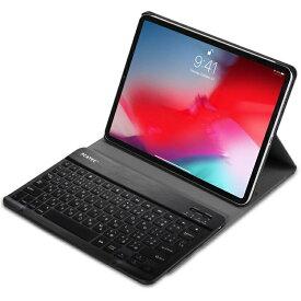 【送料無料】 iPad Pro 11 超薄レザーケース付き Bluetooth キーボード兼スタンド兼カバー☆US配列☆かな入力対応 For iPad Pro 11 A1980 / A1934 / A2013