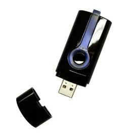 【メール便発送・代引不可】GT-730FL バッテリー内蔵 USB接続GPSモジュール 発光 GPSデータロガー GPSロガー F-GFL100 BKブラック